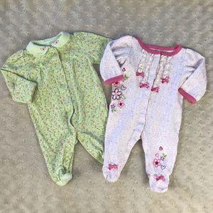 Baby Girl Romper Bundle Carter's Babies R Us Green